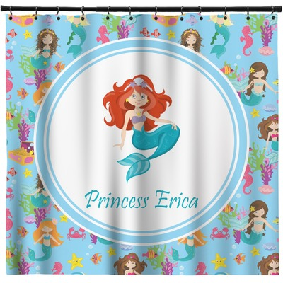 Mermaids Shower Curtain (Personalized)