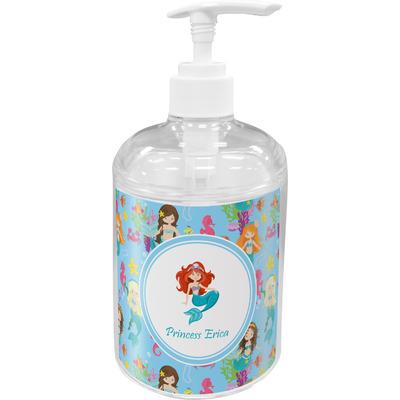Mermaids Acrylic Soap & Lotion Bottle (Personalized)
