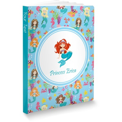 Mermaids Softbound Notebook (Personalized)