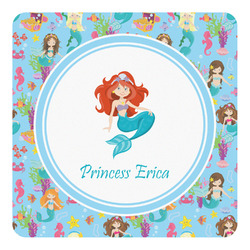 Mermaids Square Decal - Custom Size (Personalized)