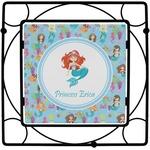 Mermaids Square Trivet (Personalized)