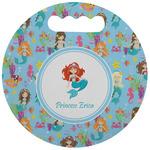 Mermaids Stadium Cushion (Round) (Personalized)