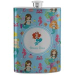 Mermaids Stainless Steel Flask (Personalized)