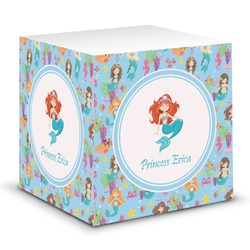 Mermaids Sticky Note Cube (Personalized)