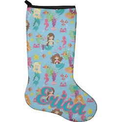Mermaids Christmas Stocking - Neoprene (Personalized)
