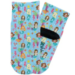 Mermaids Toddler Ankle Socks (Personalized)
