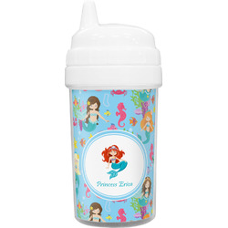 Mermaids Toddler Sippy Cup (Personalized)
