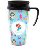 Mermaids Travel Mug with Handle (Personalized)