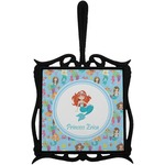 Mermaids Trivet with Handle (Personalized)