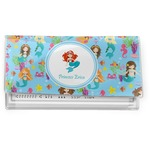 Mermaids Vinyl Checkbook Cover (Personalized)