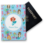 Mermaids Vinyl Passport Holder (Personalized)
