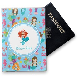 Mermaids Vinyl Passport Holder (Personalized)