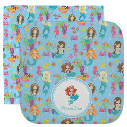 Mermaids Facecloth / Wash Cloth (Personalized)