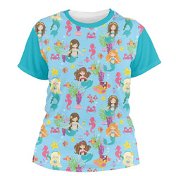 Mermaids Women's Crew T-Shirt (Personalized)