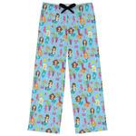 Mermaids Womens Pajama Pants (Personalized)