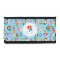 Mermaids Leatherette Ladies Wallet (Personalized)