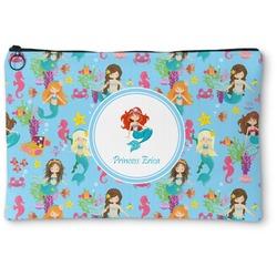 "Mermaids Zipper Pouch - Small - 8.5""x6"" (Personalized)"