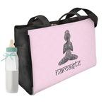 Lotus Pose Diaper Bag (Personalized)