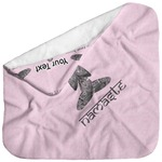 Lotus Pose Baby Hooded Towel (Personalized)