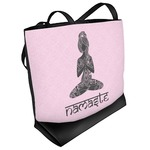 Lotus Pose Beach Tote Bag (Personalized)