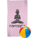 Lotus Pose Beach Towel (Personalized)