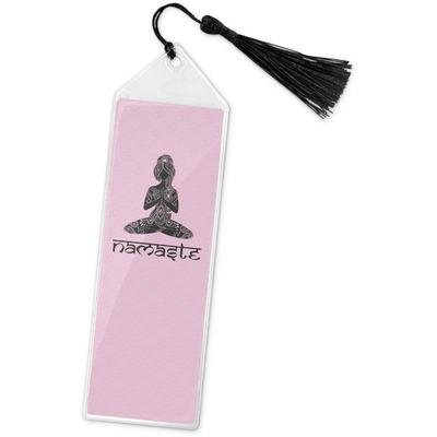 Lotus Pose Book Mark w/Tassel (Personalized)