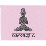 Lotus Pose Placemat (Fabric) (Personalized)