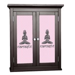Lotus Pose Cabinet Decal - Custom Size (Personalized)