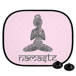 Lotus Pose Car Side Window Sun Shade (Personalized)