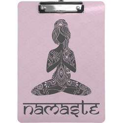 Lotus Pose Clipboard (Personalized)