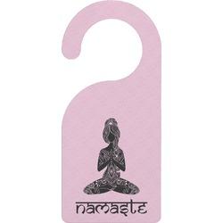 Lotus Pose Door Hanger (Personalized)