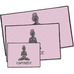 Lotus Pose Door Mat (Personalized)