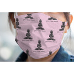 Lotus Pose Face Mask Cover (Personalized)