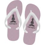 Lotus Pose Flip Flops (Personalized)