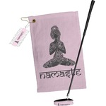 Lotus Pose Golf Towel Gift Set (Personalized)