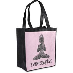 Lotus Pose Grocery Bag (Personalized)