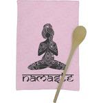 Lotus Pose Kitchen Towel - Full Print (Personalized)