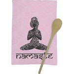 Lotus Pose Kitchen Towel - Full Print (Personalized)