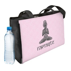 Lotus Pose Ladies Workout Bag (Personalized)