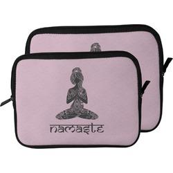 Lotus Pose Laptop Sleeve / Case (Personalized)