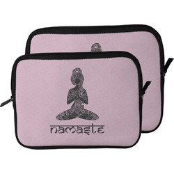Lotus Pose Laptop Sleeve / Case (Personalized)