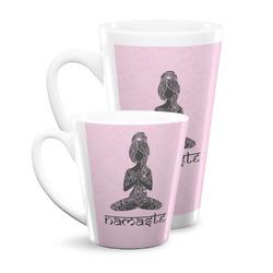 Lotus Pose Latte Mug