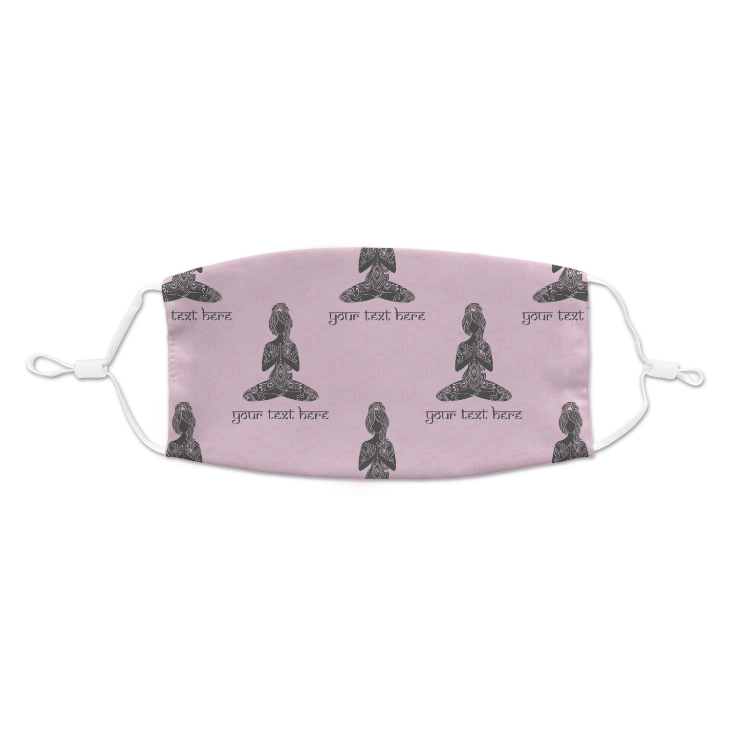 Lotus Pose Kid's Cloth Face Mask - Standard (Personalized ...