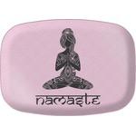 Lotus Pose Melamine Platter (Personalized)