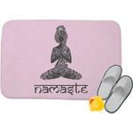 Lotus Pose Memory Foam Bath Mat (Personalized)