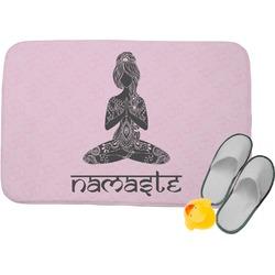 Lotus Pose Memory Foam Bath Mat (Personalized)
