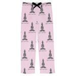 Lotus Pose Mens Pajama Pants (Personalized)