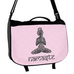 Lotus Pose Messenger Bag (Personalized)