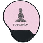 Lotus Pose Mouse Pad with Wrist Support