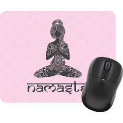 Lotus Pose Mouse Pad (Personalized)